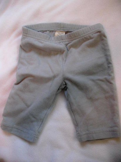 3-6 month light powder blue Old Navy pants