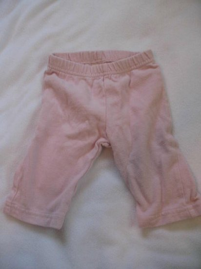 3-6 month light pink Old Navy pants