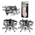 New Folding Hinge Twin Set Cufflinks Fun Quality Metal High Shine Spider Gift
