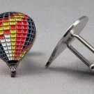 New Twin Set Cufflinks Fun Novelty Quality Enamel 25mm Multi Colour Balloon Air