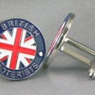 New Twin Set Cufflinks Fun Novelty Quality Enamel 22mm British Scooterist Gift