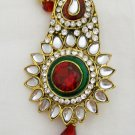 Kundan Kalgi Ethnic Groom Hair Head Decoration Accessory Jewelry