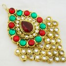 Kundan Jhumar Passa Hair Jewellery Side Piece Tikka