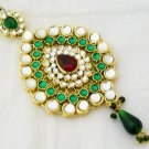 Vintage Kundan  Jhoomar Hair Accesory Decoration for Weddings