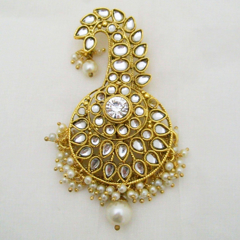 df3b1b718bc12 Kalgi Sehra Safa Turban Brooch Indian Groom Fashion Jewellery