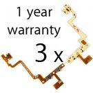 3 x iPod touch 4 4th power volume button FLEX CABLE REPLACEMENT REPAIR PART USA