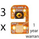 3 x iPod touch 4th gen HOME BUTTON BOARD FLEX CABLE REPLACEMENT REPAIR PART