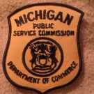 Michigan public commision department of commerce patch