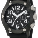 Giulio Romano Men's GR-3000-13-007 Piemonte Luminous Bl Dial Black New with tag