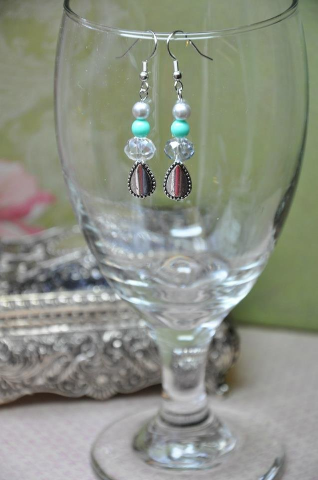 Regal Turquoise Drop Earrings