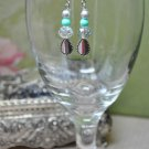 Regal Turquoise Drop Earrings