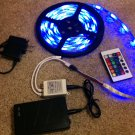 15ft LED light strip with rechargeable battery & wireless remote