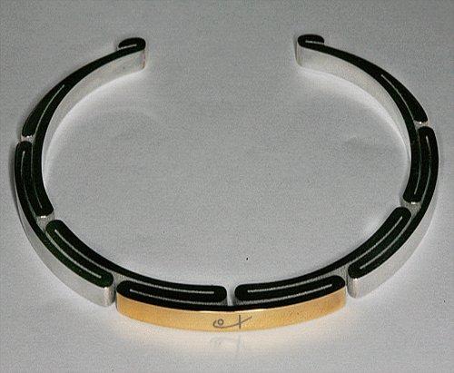 Thin sports cuff bracelet
