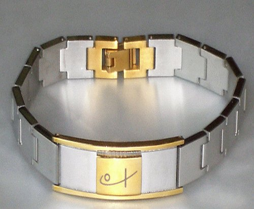 Watch-link bracelet