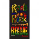 Roots Rock Reggae Beach Towel