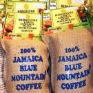Jamaican Blue Mountain Coffee freshly roasted whole Beans 32 oz