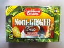 Caribbean Dreams Noni-Ginger Tea 20 Bags (Pack of 6)