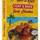 Island Spice Coat and Bake Jerk Chicken 4 Pack