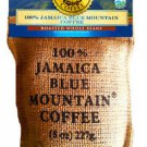 100% Authentic Jamaican Blue Mountain Coffee Whole Beans 8 oz