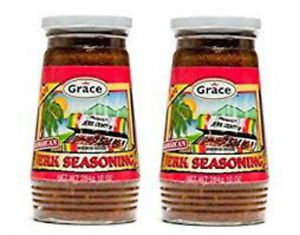 GRACE JAMAICAN JERK SEASONING HOT (2 PACK)