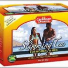 CARIBBEAN DREAMS SLIMMING TEABAGS (PACK OF 6)