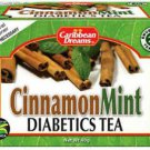 CARIBBEAN DREAMS CINNAMON MINT TEA WITH STEVIA 20 BAGS