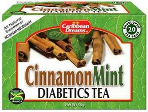 CARIBBEAN DREAMS CINNAMON MINT TEA WITH STEVIA 20 BAGS