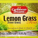 CARIBBEAN DREAMS LEMON GRASS TEA 24 BAGS