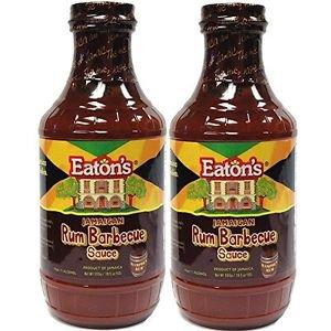 EATON�S JAMAICAN RUM BARBECUE SAUCE � 19.5 OZ.(PACK OF 2)