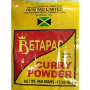 BETAPAC JAMAICAN CURRY POWDER 450 G (Pack of 3)