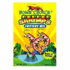 HOME CHOICE PEPPER SHRIMPS FRITTERS� MIX