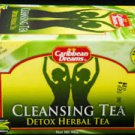 CARIBBEAN DREAMS DETOX HERBAL TEA 20 BAGS (PACK OF 3)