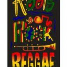 Jamaica Roots Rock Reggae Beach Towel