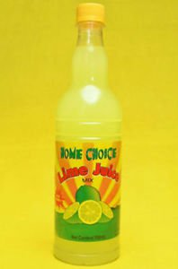 HOME CHOICE LIME JUICE MIX � 750 ML