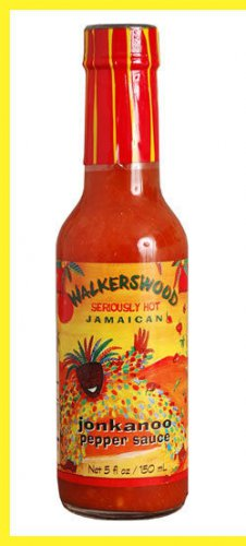 Walkerswood seriously hot Jamaican jonkanoo pepper sauce 5 oz (pack of 6).