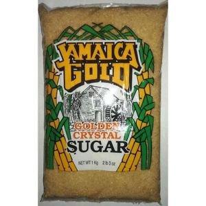 JAMAICA GOLD GOLDEN CRYSTAL CANE SUGAR 1KG (Pack of 3)