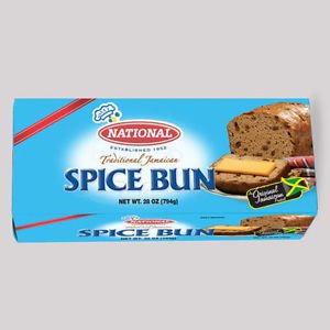 JAMAICAN  NATIONAL SPICED BUN � 28 OZ (pack of 3)
