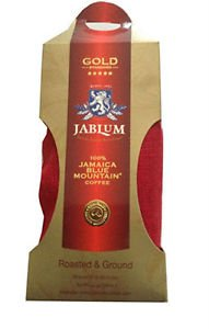 100% JAMAICA BLUE MOUNTAIN COFFEE GROUNDS � JABLUM GOLD STANDARD (2 LBS)