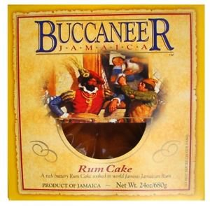 JAMAICA BUCCANEER RUM CAKE 40 OZ