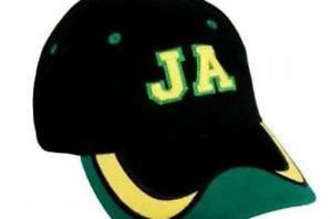 JAMAICAN BALL CAP WITH PRE-CURVED PEAK
