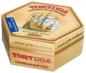 JAMAICA TORTUGA BLUE MOUNTAIN COFFEE RUM CAKE 33 OZ (Pack 0f 3)