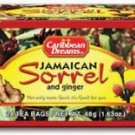 CARIBBEAN DREAMS 100% JAMAICAN SORREL & GINGER (3 PACK)