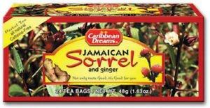 CARIBBEAN DREAMS 100% JAMAICAN SORREL & GINGER (3 PACK)