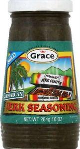 GRACE MILD JERK SEASONING, 10 OZ (Pack of 6)