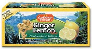 Caribbean Dreams Ginger Lemon Tea (pack of 3)
