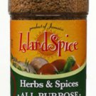 Island Spice Herb and Spice All Purpose 4oz (NO MSG) (PACK OF 6)