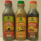 SPUR TREE JAMAICAN JERK, CURRY & OXTAIL SAUCE PACK (MEDIUM 35 oz)