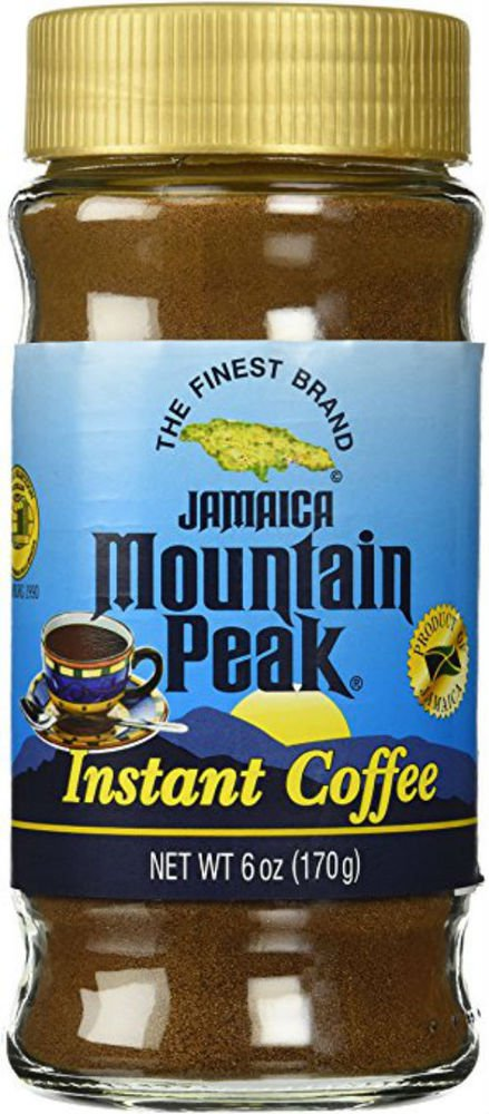 JAMAICAN MOUNTAIN PEAK INSTANT COFFEE 6 OZ (PACK OF 4)