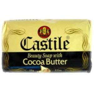 CASTILE BEAUTY SOAP WITH COCOA BUTTER (PACK OF 3)