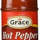 GRACE JAMAICAN HOT PEPPER SAUCE -NO MSG -3 OZ (PACK OF 12)